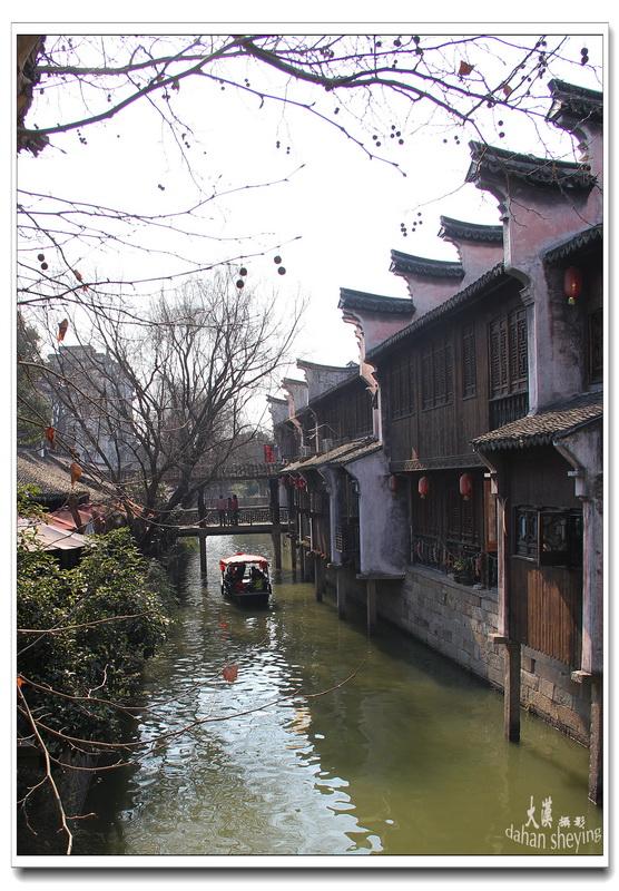 枫泾古镇一瞥_淮南图片网